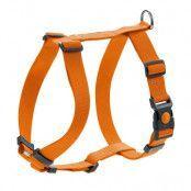 HUNTER London Vario Rapid, orange hundsele - Stl. M: 58-101 cm magomfång