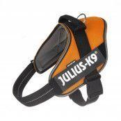 JULIUS-K9 IDC® POWAIR sele - orange - Stl. 0: bröstomfång 58 - 76 cm