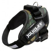 JULIUS-K9 IDC®-Powersele camouflage - Stl. Mini: bröstomfång 49 - 67 cm