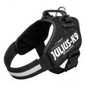 JULIUS-K9 IDC®-Powersele svart - Stl. 0: bröstomfång 58 - 76 cm