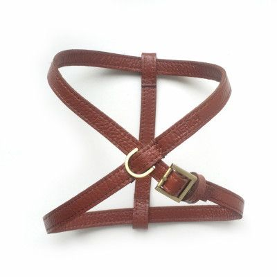 Merikh Pet Harness Leather Cognac S/M