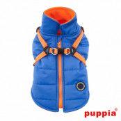 Mountaineer II Blue - Fodrat Hundtäcke med Integrerad Sele