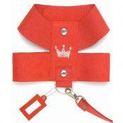 Plush Crown Sele Röd - Medium