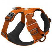 Ruffwear Front Range Harness hundsele - Stl. M: 69 - 81 cm bröstomfång, B 25 mm, orange