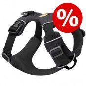 Ruffwear Front Range Harness hundsele till sparpris! - Stl. M: 69 - 81 cm bröstomfång, B 24 mm, grå