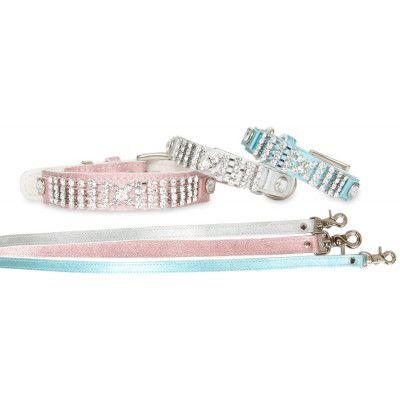 Shinny Luxury Halsband + Koppel