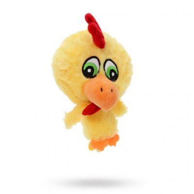 Atomic Chicken Plush & Squeaky Hundleksak