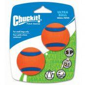 Chuckit! Ultra Ball S - 2 st Ø 5,1 cm (S)