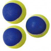 KONG Ultra SqueakAir Ball - Ekonomipack: 9 bollar stl. M