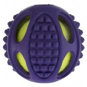 Gummitennisboll 2in1 - 2 st Ø 6 cm