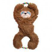 KONG Tuggz™ Sloth, brun - Stl. XL: ca L 42 x B 23 x H 11 cm