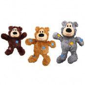 KONG WildKnots Bears - Stl. XS: L 10 x B 5 x H 4 cm