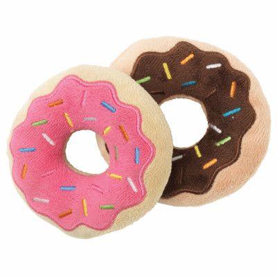 Mjuk Hundleksak - Donuts 2-pack