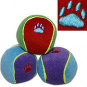 Trixie färgglada leksaksbollar för hundar - 1 st, Ø 6 cm