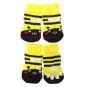 Bumblebee Pet Socks Gul/Svart