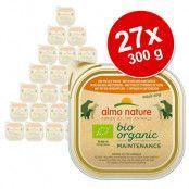 Almo Nature BioOrganic Maintenance 27 x 300 g - Eko nötkött & eko grönsaker