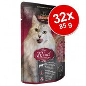 Ekonomipack: Leonardo Finest Selection Pouch 32 x 85 g Chicken & Egg