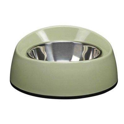 No-Spill Melamine Skål Grön