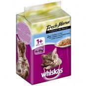 Whiskas Fresh Menue - 6 x 50 g Kyckling, kalkon, fjäderfä i sås