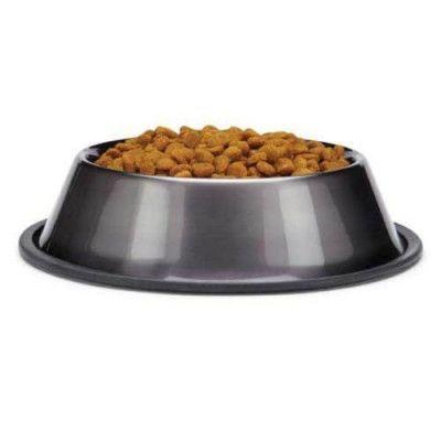 Dura-Gloss Metallic Stainless Steel Bowl - Grå - Small