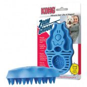 KONG Dog massageborste Zoom Groom - L 12 x B 7,5 x H 4 cm