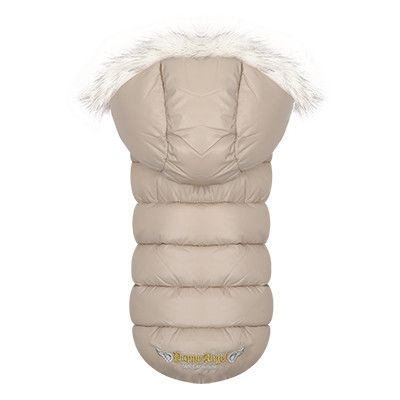 Puppy Angel Trim Down Padding Hood Vest