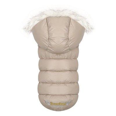 Puppy Angel Trim Down Padding Hood Vest