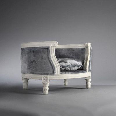 George Silver Grey Velvet