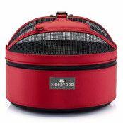 Mobile Pet Bed - Röd Transportväska
