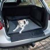 Trixie bil-hundsäng med stötfångarskydd - L 95 x B 75 cm